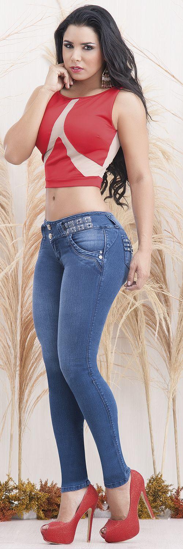 Hola chicas os presento nuestra nueva colección de pantalones jeans colombiano de la marca cheviotto.www.pathymoda.com facebbok:pathymoda
