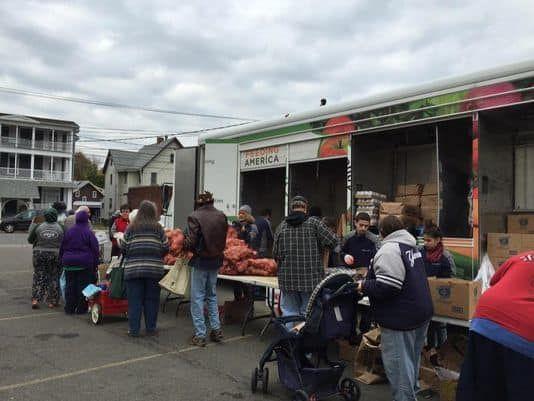 Catholic Charities seeking Mobile Food Pantry Volunteers