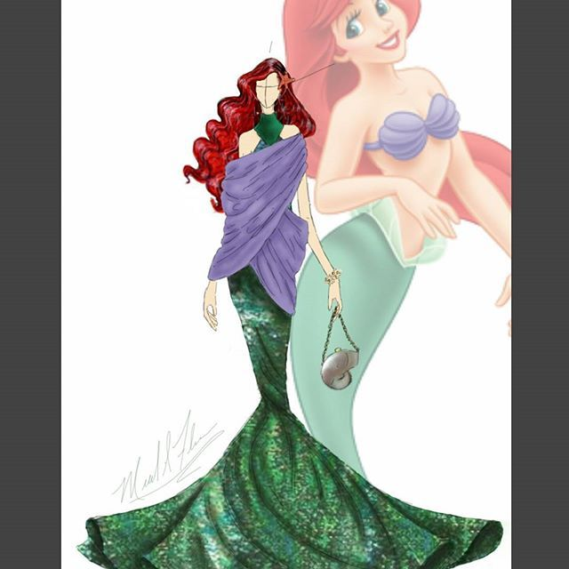 New Mini collection.... Couture Disney Princesses. ARIEL from The Little Mermaid