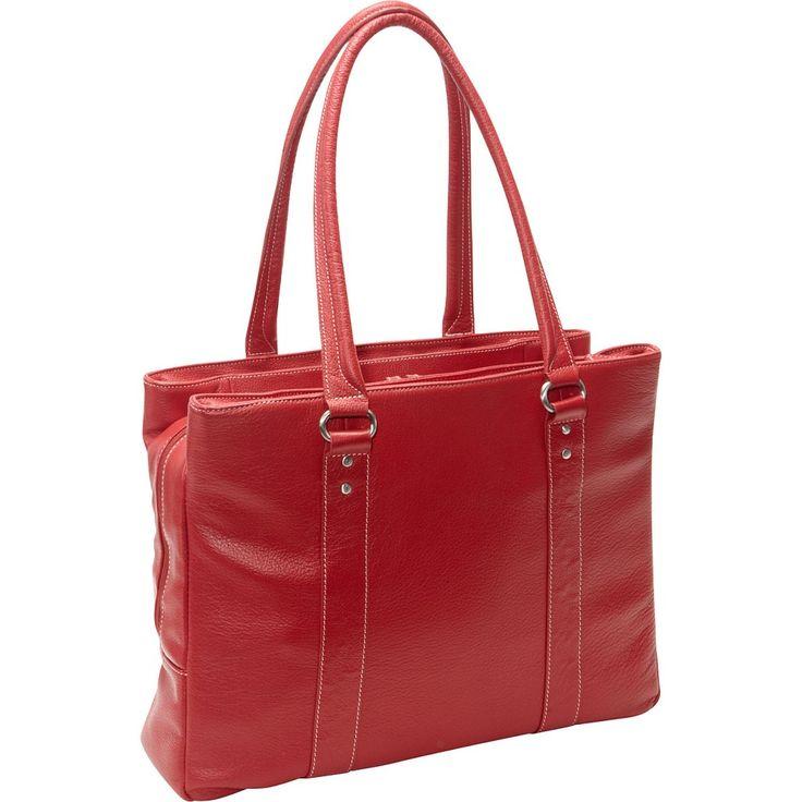 Insomniac Sale Picks: Stylish Laptop Bags - Soho Triple Zip Leather Latptop Tote