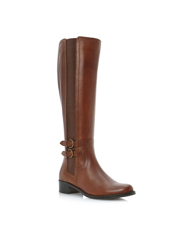DUNE Timpleton Two Buckle Elastic Riding Boots http://ow.ly/pgyXo