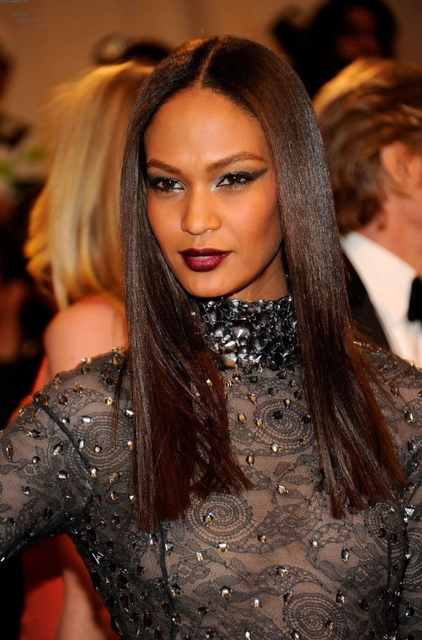 Picture Of Joan Smalls Gorgeous Hair Color Natural