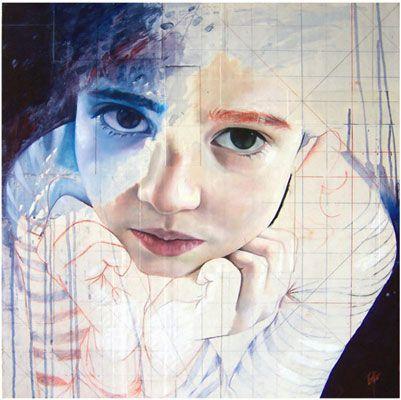 Carmen Giraldez #figurative #portrait #art