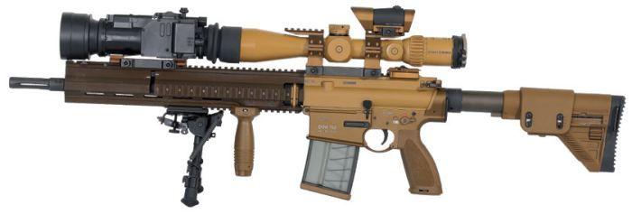 Heckler and Koch Sniper Rifle | Heckler - Koch HK G28 tirador designado / sniper rifle en ...
