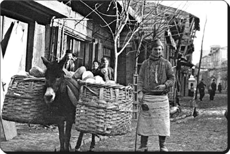 Ekmekçi - 1915  Fotoğraf : J. Fox Mortımer