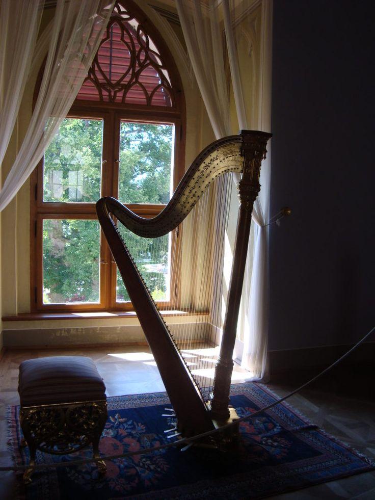 Music corner in the castle