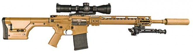 NEW ARMALITE, AR-10 PRC308 WITH AN AWC SUPPRESSOR ! ! !