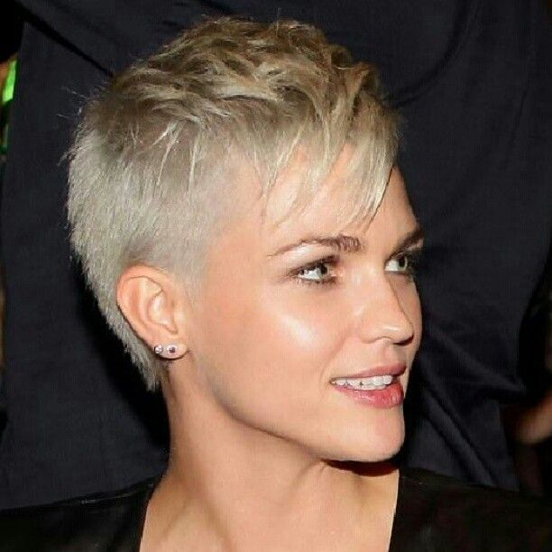 Long On Top Short On Sides Pixie Google Search Super