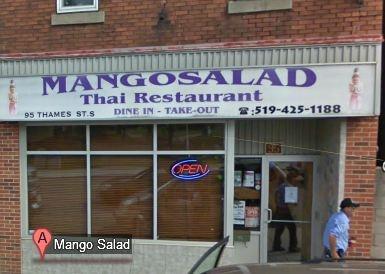 Thai Food Woodstock Ontario