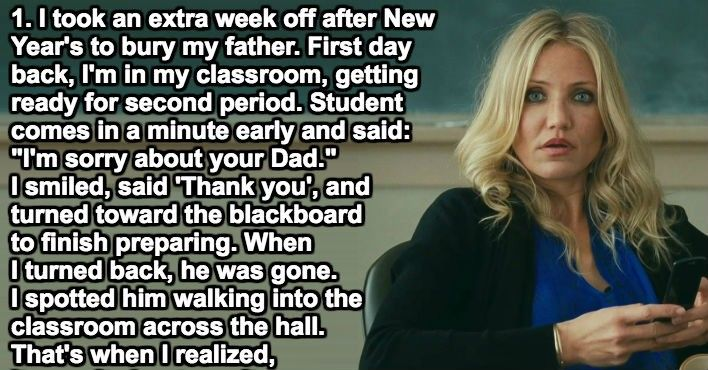Overwhelmed Teachers Share The One Time A Student Actually Did Something To Brighten Their Day.