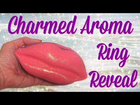 Charmed Aroma Ring Reveal -Jumbo Lip Bath Bomb!