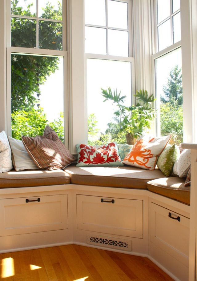 When I have my own home, my husband will be making me a bay window to read at, and to enjoy :)