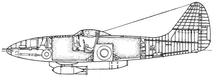 Су-9 (Первый) Компоновочная счема