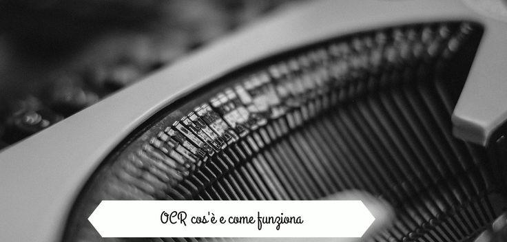 OCR: di cosa si tratta?