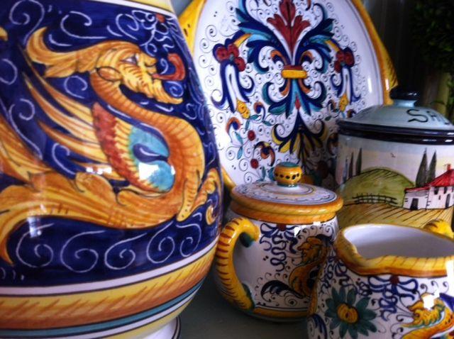 43 Best Deruta Rooster Pottery Images On Pinterest
