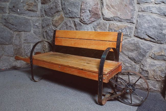 Here are a few great ideas for adding a classic or more modern wheelbarrow bench into your garden theme. Get as rustic as you'd like by using pieces from various styles of wheelbarrow. The turn of the century wheelbarrow definitely keeps that antique effect while the modern wheelbarrow bench adds a fresh new concept to the space. These are definitely some great ideas to spruce up your garden!
