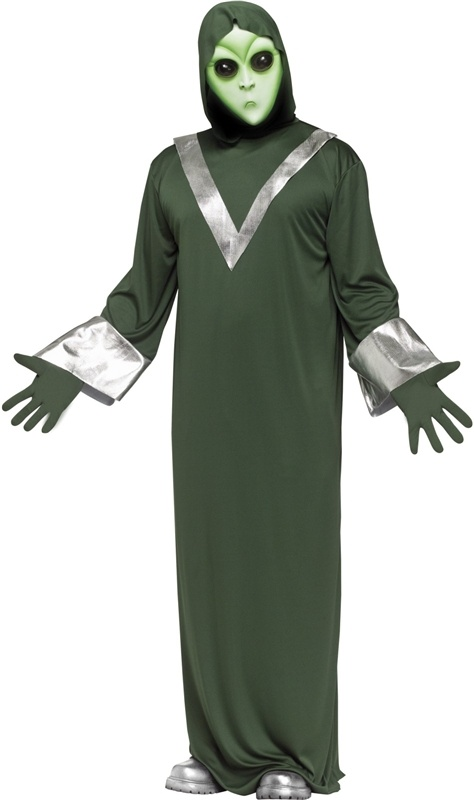 deep space alien adult costume endoftheworld - Best Halloween Costumes Female