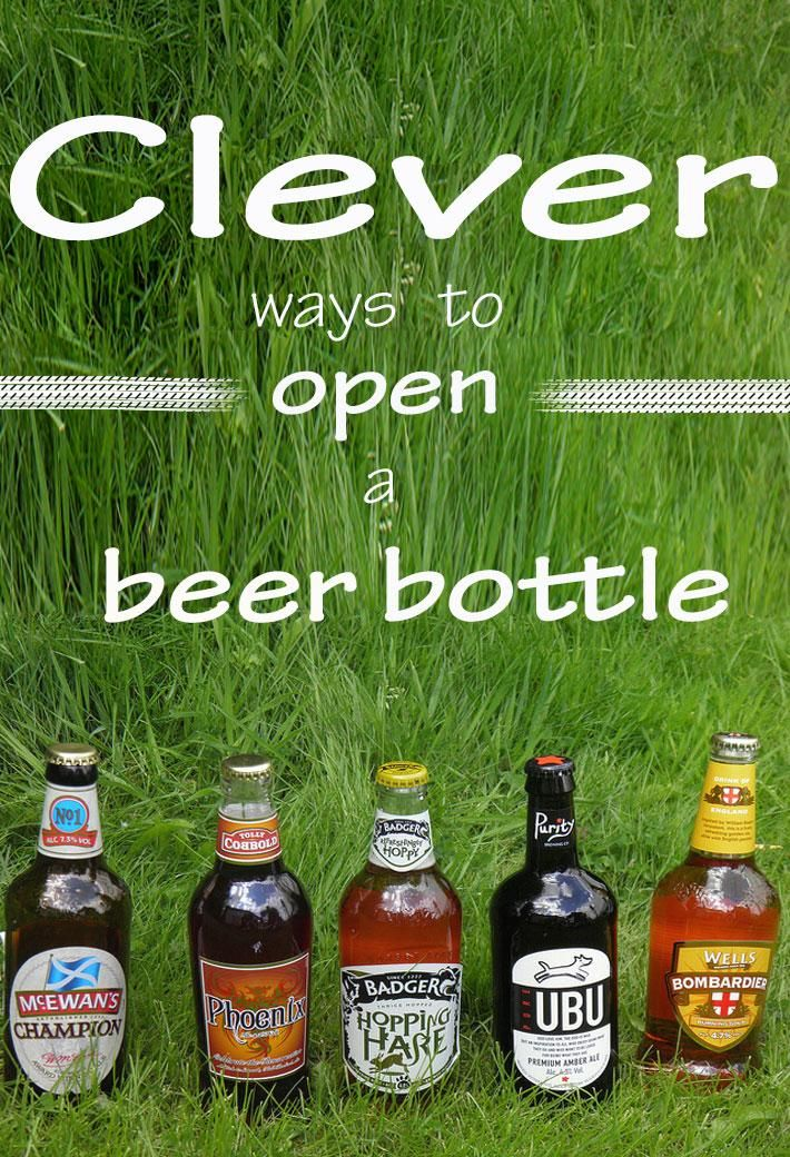 14 Clever Ways To Open A Beer Bottle In A Pinch Bottle