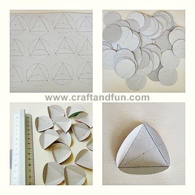 Riciclo Creativo - Craft and Fun: Vasi con il Riciclo Creativo della Carta e del Cartone