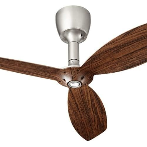 "Quorum International 97003-0 Alpha 52"" or 60"" 3 Blade Indoor Ceiling Fan with Reversible Motor, Light Kit, and Wall Controls ("