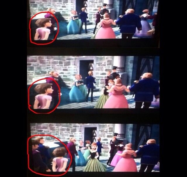 Frozen / Tangled Crossover - Princess Rapunzel and Eugene Fitzherbert have a cameo in Frozen!