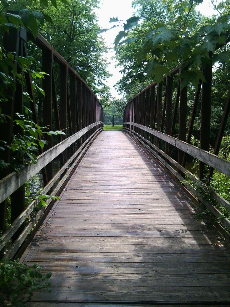 Island Park, Ann Arbor Bridge 2 Island park, Ann