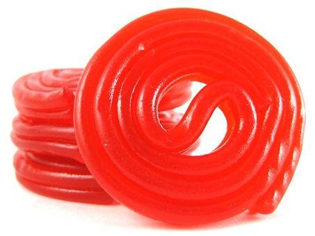 Red Licorice Wheels #nutsdotcom #wedding