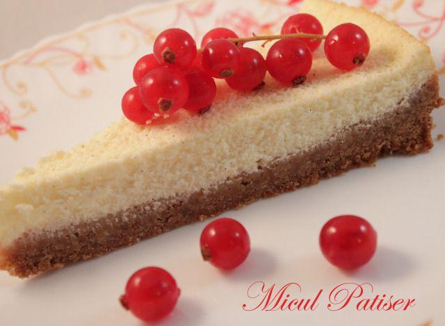 Cheesecake cu vanilie - Vanilla cheesecake