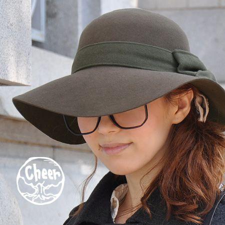 【楽天市場】フェルトウールのほっこり素材で楽しむ女優帽♪ツバ広デザインのエレガントな帽子!ふっくら大きな同生地リボンが自慢/フエルト/HAT◆cheer(チアー):メリルワイドブリムフェルトリボンハット:イーザッカマニアストアーズ