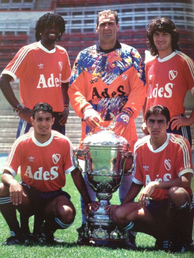 1994 - Supercopa - Uzuriaga; Islas; Garnero; G. Lopez; Rambert