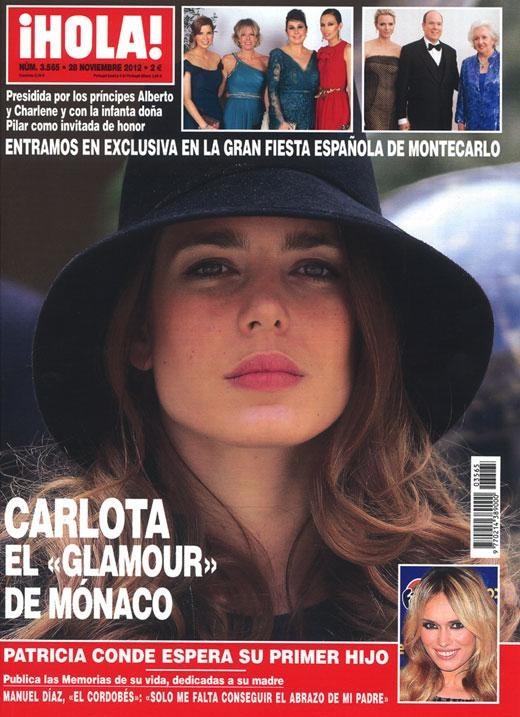 ¡HOLA! Nº 3565 - 28/11/12 #covers #revistas #magazines #portadas