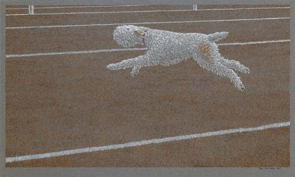 Alex Colville, Running Dog, 1968