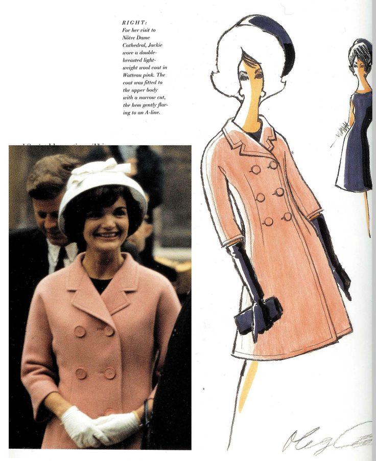 Oleg Cassini , In 1960 Cassini was appointed the official White House couturier to Jackie Kennedy. Together they created an unique American look.
