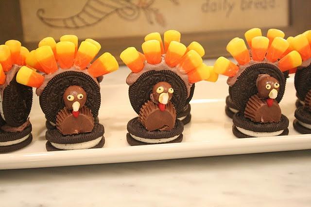 Thanksgiving turkey candy