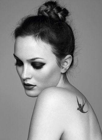 Leighton Meester for Marie-Claire