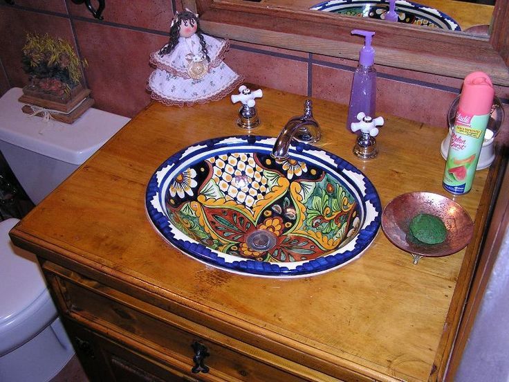 1000 Images About Mexican Style Bathrooms On Pinterest Vanities Tile And Bathroom Sinks