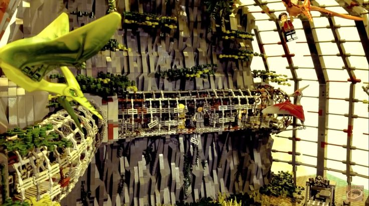 Schmidt Projects -  Lego Jurassic World Park MOC  -  Lego Jurassic World Park MOC | by schmidtproject