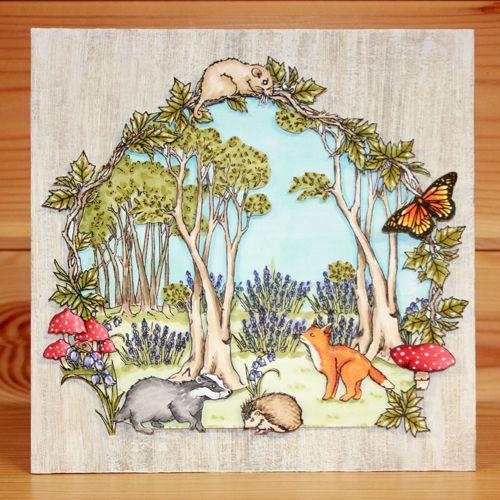 Bluebell Wood – Becki | Hobby Art