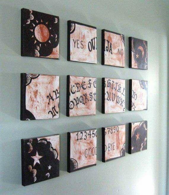 Ouija Board decor