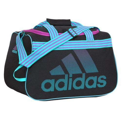 adidas blue duffle bag
