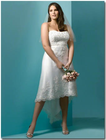 24 best Beautiful Plus Size Dresses images on Pinterest | Wedding ...