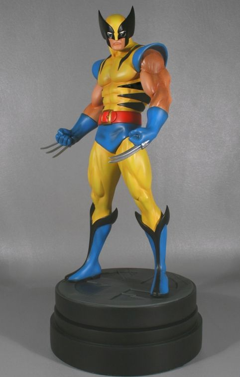 Wolverine Classic Museum Statue Sculpted by: Randy Bowen