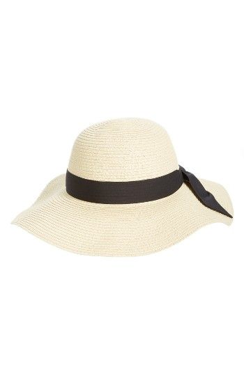 Free shipping and returns on BP. Bow Band Floppy Straw Hat at Nordstrom.com. Top off your casual summer looks with this floppy straw hat styled with a wide ribbon bow for a bit of vintage charm.