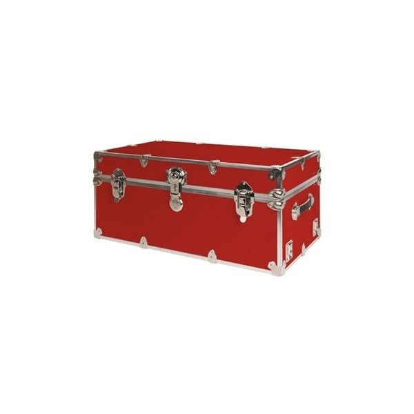 Rhino Armor Storage Trunk in Red ($139) ❤ liked on Polyvore featuring home, home decor, small item storage, harry potter, trunks, storage trunk, red home decor and red home accessories