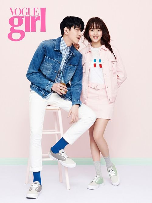 Kim So Hyun in Vogue Girl Korea April 2015 Look 1