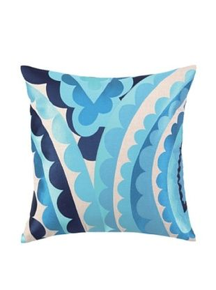 Trina Turk Vivacious Embroidered Pillow