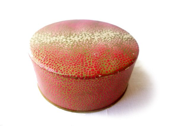 Boîte de poudre beauté Coty Paris vintage  inutilisée pour