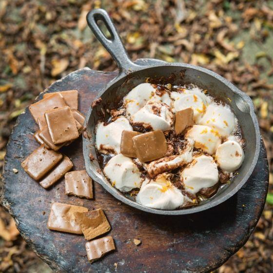 S'mores met butterscotch en café noir-koekjes Productfoto ID Shot 560x560