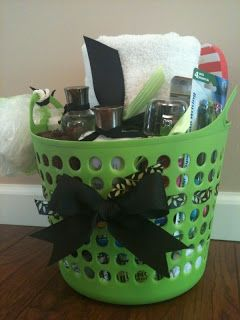 Just for You by Jessica: College Dorm Survival Kit. A good idea for the college bound graduate.
