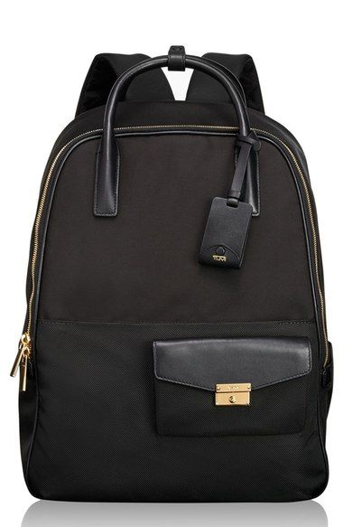 Free shipping and returns on Tumi 'Larkin Portola' Convertible Nylon Backpack at Nordstrom.com. Tumi's exclusive ballistic nylon ensures this streamlined convertible backpack is tough and travel-ready, while leather trim and goldtone hardware add elegance to the convenient style. The ultra-versatile design includes straps that tuck away so you can alternate between backpack and tote, as well as a removable laptop case and exterior pocket for keeping small essentials within easy reach.